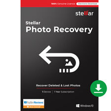 Stellar Photo Recovery Software|Windows|Standard|Recover Deleted Photos|Download