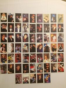 59 x Aufkleber / Sticker / Sammelbild / Smash Hits 1985