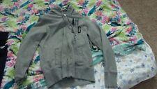American Eagle Hoodie Sweatshirt L Large Gray AEO AE