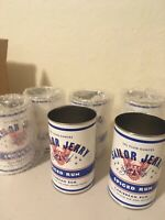 Set of 6 Sailor Jerry Spiced Rum Collectible Tin Can Cup Advertising Metal Mug