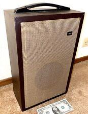 Elmo Es-650 Extension Projector Speaker in original box, sound, stand alone