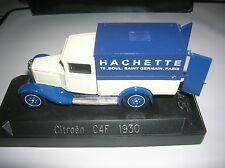 SOLIDO Citroen C4 F 1930 Publicitaire HACHETTE 1/43