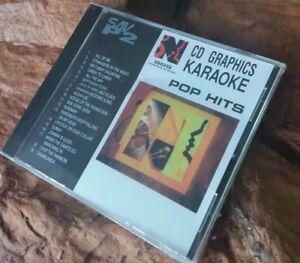 Karaoke cdg disc BMB Nikkodo SAV-P2 Pop Hits,see descript.19 trks/artist, NEW