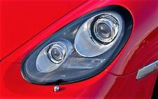 Porsche 987 Boxster Cayman 2nd gen Black Headlights R Version  Dynamic Cornering