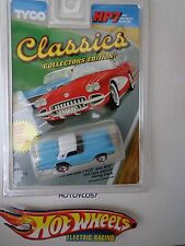 MATTEL / TYCO CLASSIC HP-7 FORD 57' T-BIRD  H.O. SLOT CAR #9023 NEW