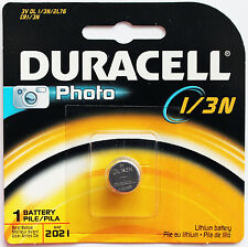 1Pc Duracell 2L76 3-Volt Lithium Battery Dl-1/3N Dl1-3N - Made in Japan
