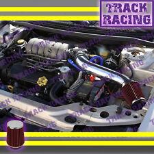 95-00 DODGE STRATUS CHRYSLER SEBRING CIRRUS V6 LONG AIR INTAKE KIT Black Red 2