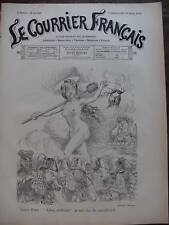 COURRIER FRANCAIS 1901 N 48 SAINTE- BARBE par WILLETTE