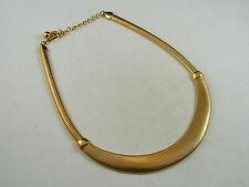 Necklace (C32) Avon Goldtone Scoop