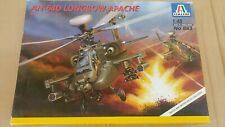 ITALERI 1:48 AH-64D LONGBOW APACHE Helicopter Model Kit 863 *COMPLETE UNSTARTED*