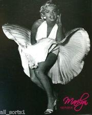 MARILYN MONROE BLACK Fleece COPERTA INVERNO HOLLYWOOD icona ABITO BIANCO MODELLO