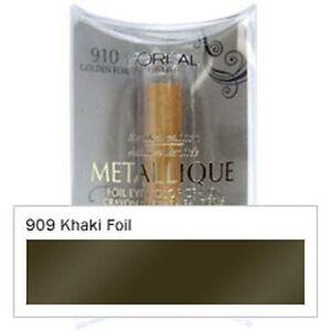 L'Oreal Metallique Foil Eye Color Crayon - Khaki Foil