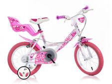 Bicicletta bimba 14 Dino Bikes bambina telaio bici acciaio con rotelle e cestino