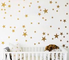 Gold Stars (Set of 65) Wall Sticker Nursery Kids Home  MS308VC