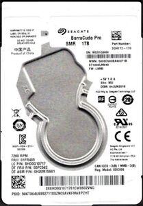 Seagate hard drive BarraCuda Pro 1TB 2.5 inch SATA 7200 RPM ST1000LM049