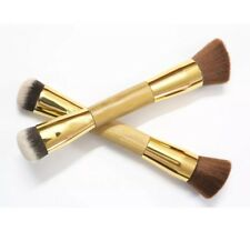 Make Up Liquid Cream Powder Foundation Brush Flat Angled Double Sided