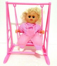 PINK BETTY DOLL SWING & SINGING PRINCESS TOY FOR GIRLS LIGHT & SOUND-IDEAL GIFT