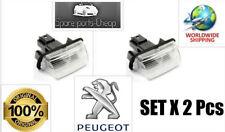 OE Eclairage Plaque Immatriculation Feux De Plaque Peugeot 206 206+ 207 306 307