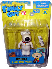 """Family Guy Brian Griffin The Dog Action Figure MIB 6"""" Mezco Toy Yellow Box RARE!"""