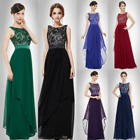 dress evening long ball gown party prom bridesmaid formal uk 6 women stock new s