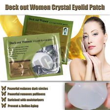 10 Pairs Crystal Collagen Clay Eye Pad Patch Mask Anti Dark Circle Wrinkle