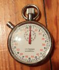 Vintage Swiss La Marque Stopwatch 7 Jewels ~ 52mm - Works Great