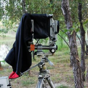 Dark Focusing Hood Cloth For 4X5 Large Format Camera (Black) Wrapping