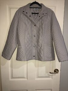 Noni B Ladies Quilted Jacket GUC Size Medium