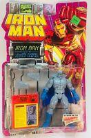 Toy Biz Marvel Comics Iron Man Grey Gargoyle W/ Wrong Card Mistake. NIP