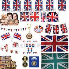 Union Jack Prince Harry meghan Royal Wedding Party Decorations Celebrations UK