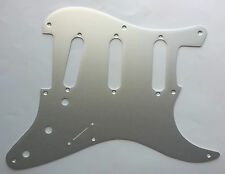 Stratocaster Brushed Aluminium Pickguard for US SSS Strat inc screws