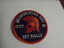 More details for minorities  src 1st rally patch  lambretta vespa mod (711) collectors