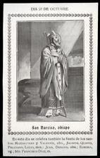 "santino-santo card""S.NARCISO JERUSALÉN"