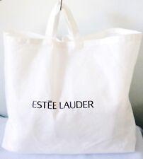 VINTAGE ESTEE LAUDER WHITE DUST COVER FOR TOTE BAG / HANDBAG -  BRAND NEW !