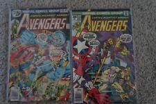 Original Avenger Comics # 149 and 153. Vintage. Marvel Comics