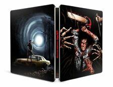 EVIL DEAD 1 & 2 (U.S. EXCLUSIVE STEELBOOK 4K Ultra HD +Blu-ray +Digital) NEW