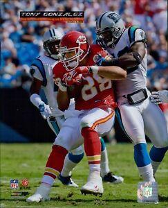 Tony Gonzalez Kansas City Chiefs NFL Licensed Unsigned Glossy 8x10 Photo B
