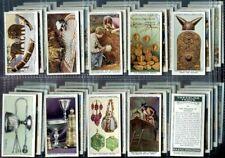 Tobacco Card Set, Wa & Ac Churchman, Treasure Trove, Archaeology, 1937