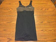 Nike Dri-Fit Maria Sharapova Statement Tennis Dress Size Large 465324-010 Black