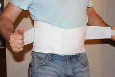 "Adjustable Back Brace Lumbar Support Lower Belt Pain Relief Waist Large 38.5"""