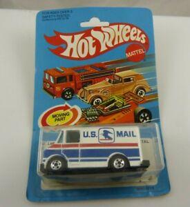 1982 Vintage Hot wheels Mattel U.S. Mail truck letter getter # 9643 sealed packa