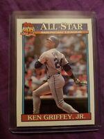1991 Topps Ken Griffey Seattle Mariners #392 Baseball Card