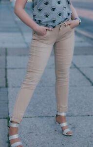 Buena Vista Damen Jeans Sophie stretch twill sand beige - S