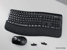 Microsoft Wireless Comfort Desktop 5050 Keyboard and Mouse Combo,