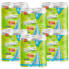 More details for 24 rolls rhino super strong and absorbent multi purpose kitchen roll