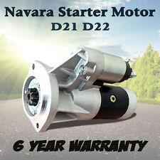 For Nissan Navara Starter Motor D21 D22 TD24 TD27 Diesel Cabstar Terrano Urvan