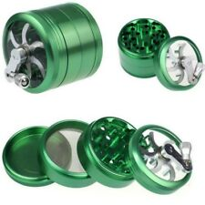 Plant Herb Grinder Spice Herbal Alloy Crusher 4 Layer Metal Hand Muller