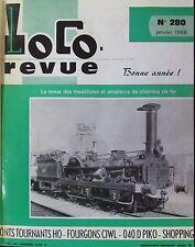 MODÉLISME FERROVIAIRE TRAIN MAGAZINE LOCO REVUE 11 NUMÉROS ANNÉE COMPLÈTE 1968