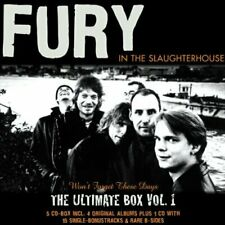 Fury in the Slaughterhouse Won't forget these days-The ultimate box 1 (.. [5 CD]