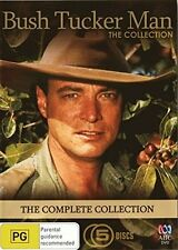 BUSH TUCKER MAN : THE COMPLETE COLLECTION  - DVD - UK Compatible -Sealed